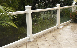 Glass PVC Railing